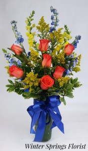 Fall Extravaganza Vased Bouquet