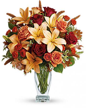 Fall Fantasia Vase