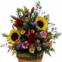 Summer Daydreams Basket Arrangement