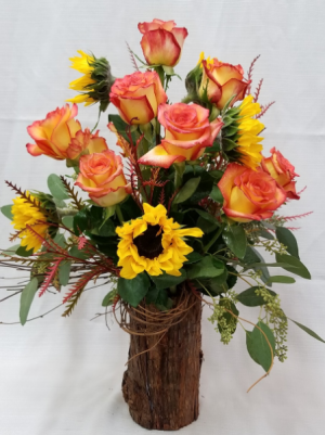 Fall Fantasy Fresh mixed arrangement in Bolivar, MO | The Flower Patch & More