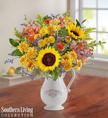 Fall Farmhouse Pitcher 1-800 FLOWERS BOUQUET