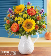 Fall Farmhouse Pitcher by Southern Living® Arrangement
