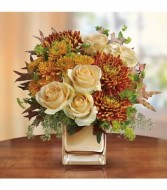 Fall Fashion Arrangement Vase