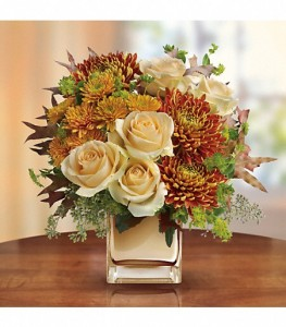 Fall Fashion Arrangement Vase in Fairfield, CT | Blossoms at Dailey's Flower Shop