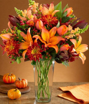 FALL FASHION Vase arrangement in Longview, TX | ANN'S PETALS