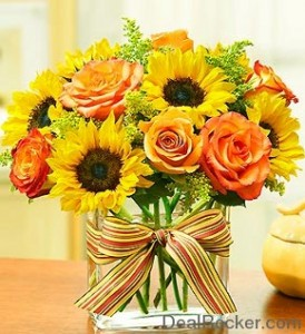 FALL FAVORITE Vase Arrangement