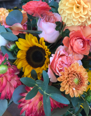 Fall Festival Vase Arrangement in Northport, NY | Hengstenberg's Florist