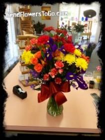 Fall Celebration Floral Arrangement