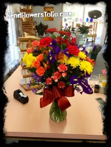 Fall Celebration Floral Arrangement