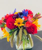 Fall Festival Vase
