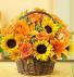 Fall Field of Flowers     FHF-131 Basket Arrangement