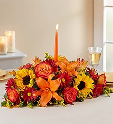 Fall Fields of Texas Centerpiece Centerpiece in Princeton, TX | Princeton Flower and Gift Shop