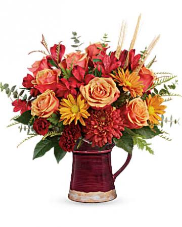 FALL FLAIR Vase Arrangement