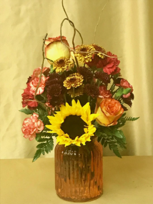 Fall Fling mixed fall flowers in Brandon, FL | WHIDDEN FLORIST