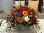 Fall floral bowl Table