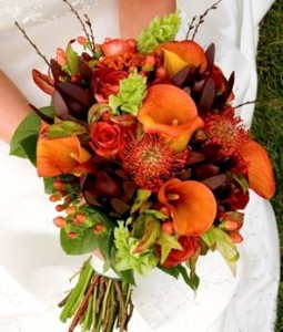 Fall floral bridal bouquet in whitehall pa precious petals florist fall floral bridal bouquet junglespirit