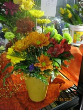 Fall Floral Vase Fall Floral Arrangement
