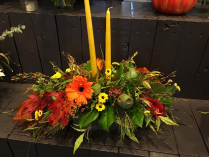 Fall Florals Arrangement