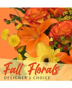 Fall Florals Designer's Choice