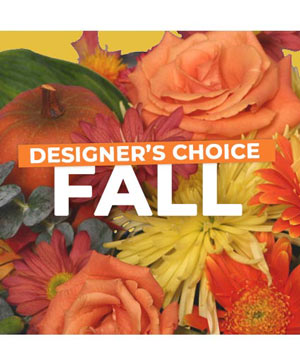 Fall Flowers Designer's Choice in Okemah, OK | Statehood House Flowers & Gift