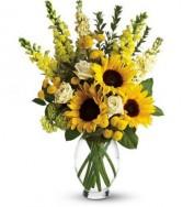 Sunshine  Fall Vase
