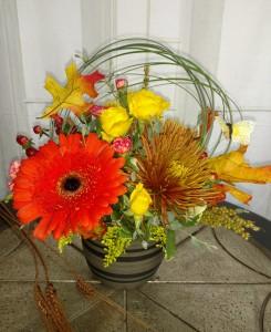 Fall Flutter Fresh Arrangement in Bend, OR   AUTRY'S 4 SEASONS FLORIST