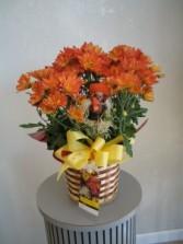 FALL FOLIAGE chrysanthemum