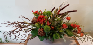 Fall Forest Arrangement in Chappaqua, NY | ART OF FLOWERS