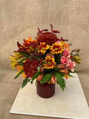 Fall Forever Fresh vase arrangement  in Coleman, WI | COLEMAN FLORAL & GREENHOUSES