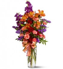 Fall Fragrance Vase