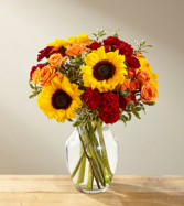 Fall Frenzy Vase Arrangement