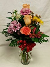 Fall Fresh Flower Vase