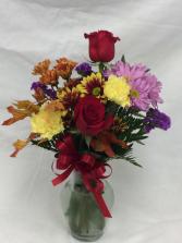 Fall Fresh Vase
