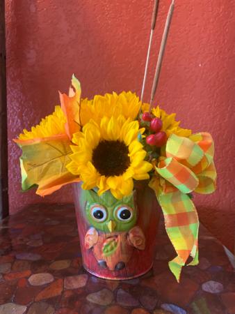 Fall Friendly Sunflower