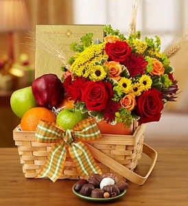 FALL FRUITFUL GATHERING (product will vary depending on availabilty) in Texas City, TX | FROM THE HEART FLORIST