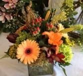 Fall Fullness Vase Arrangement