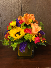Fall Fun Cube arrangement