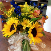 Fall Fun sunflowers/and mixed seasonal
