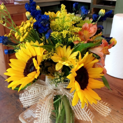 Fall Fun sunflowers/and mixed seasonal