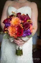 Fall Fusion Bridal Bouquet