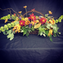 Fall Garden style Basket Fall