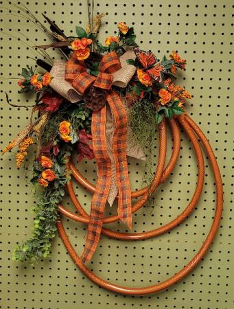Fall Gardens SILK Wreath
