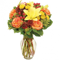 Fall Gathering Bouquet Arrangement