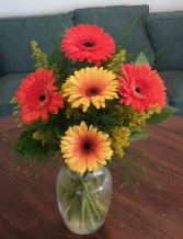Fall Gerbera Arrangement