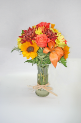 FALL GLAMOUR Tall Arrangement