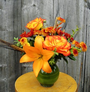 Fall Glow  Table Centerpiece