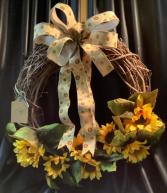 Fall Wreath WF-F007 Fall Grapevine Wreath