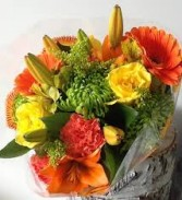Fall Hand Tied Bouquet of the Day