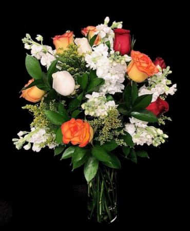 Fall Happiness High & Magic Roses with Stock