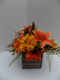 Fall Happiness Silk Arrangement